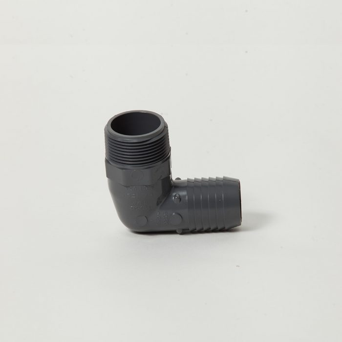 1413012 1.25 Inch Insert X Mpt 90 Combination Elbow