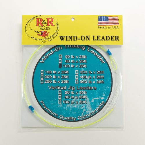 1527 Wind On Trolling Leader 100