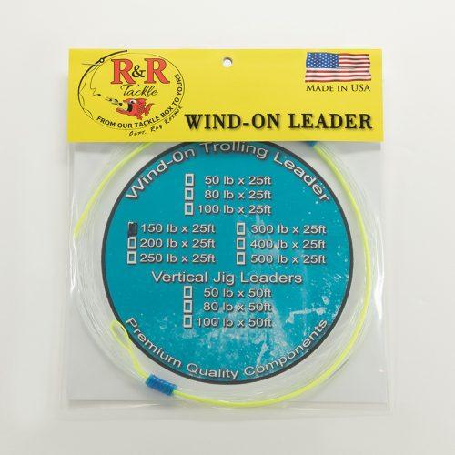 1529 Wind On Trolling Leader 150
