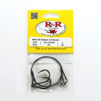 1578 Titanium Leaders 30 Wire 4 Mustad