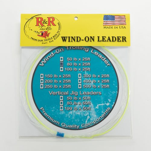 1583 Wind On Trolling Leader 80