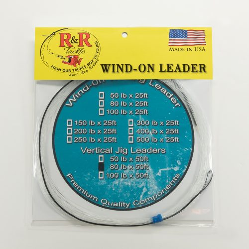 1588 Wind On Vertical Jigging Leader 80