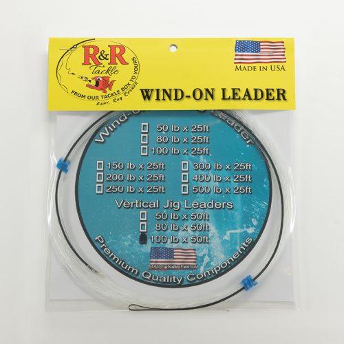 1589 Wind On Vertical Jigging Leader 100