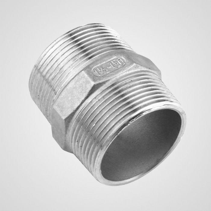 77006 Pn Ss Hex Pipe Nipple