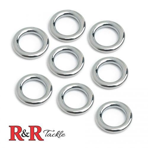 9mm Stainless Steel Kite Rings