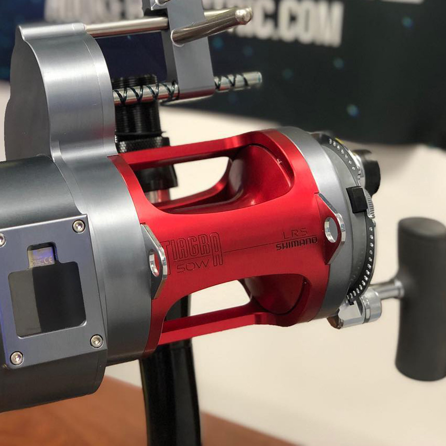 Candy Apple Red Anodizing Reel