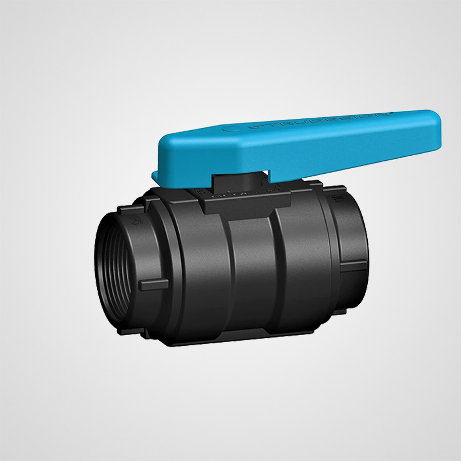 Gemlux Ball Valve Nps Black