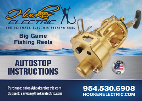 Hooker Electric Autostop Reel Instructions
