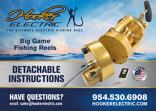 Hooker Electric Detachable Reel Instructions