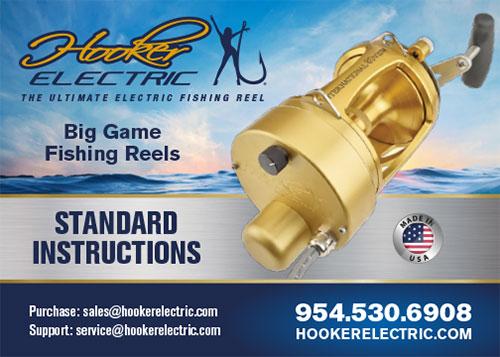 Hooker Electric Standard Reel Instructions