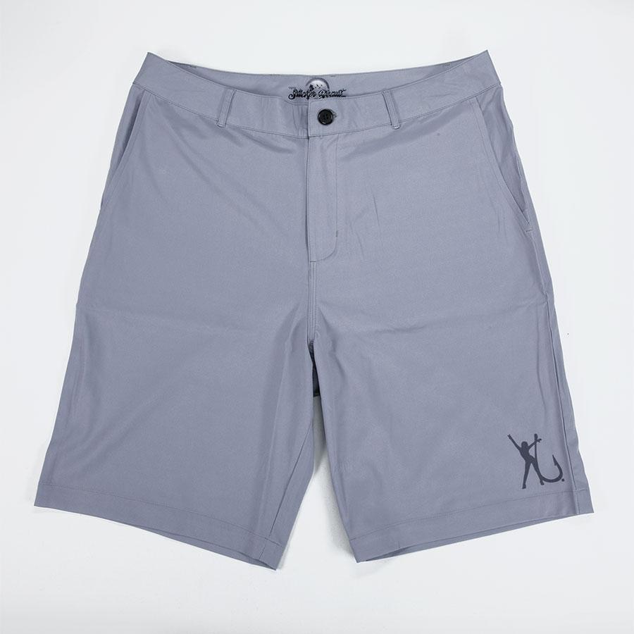 Hooker Electric Men Hybrid Shorts Gray Front