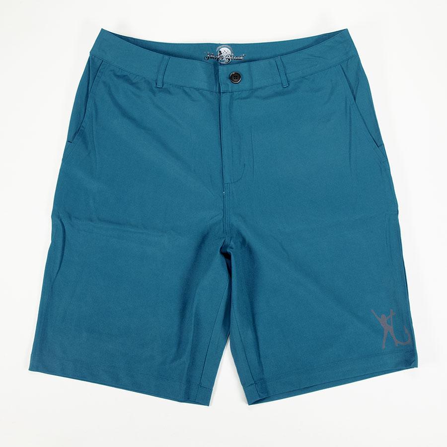 Hooker Electric Men Hybrid Shorts Teal Front