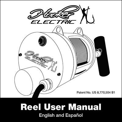 Hooker Electric Reel User Manual