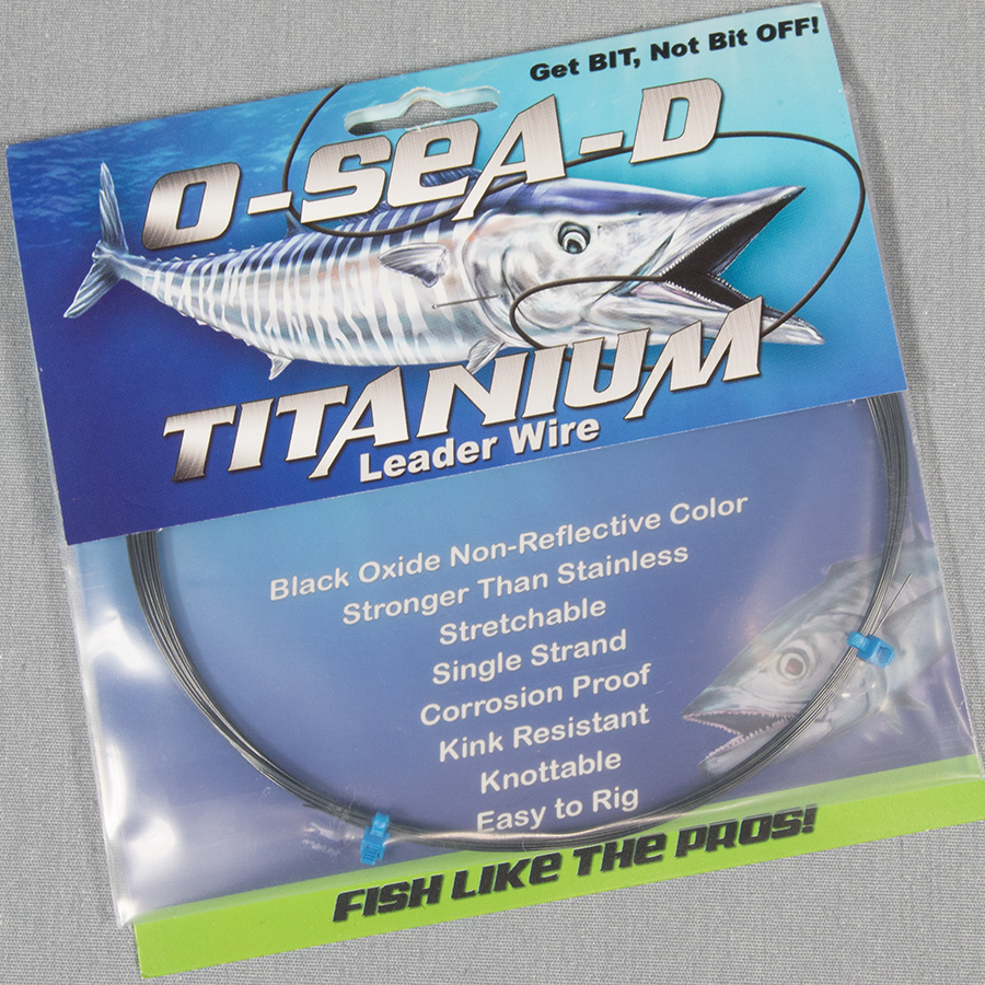 O-SEA-D Titanium Leader Wire - Hooker Electric Reels