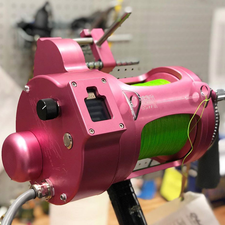 Pink Anodizing Reel