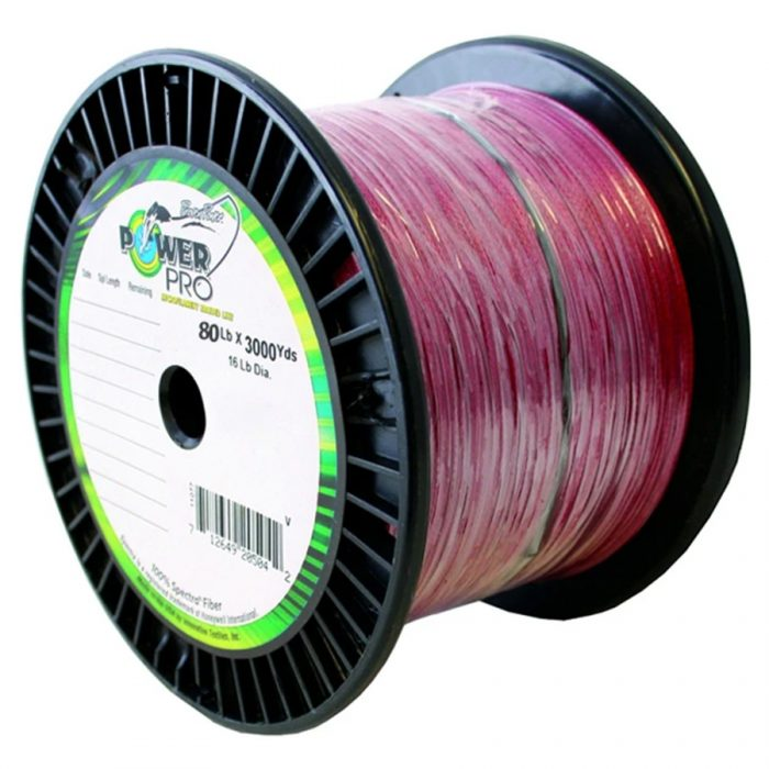 Power Pro Spectra Braid 3000 80lb Yards Red