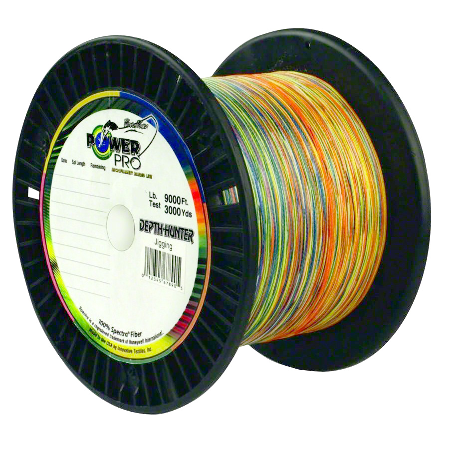 PowerPro 3000 Yd Depth Hunter Line 4-Colors