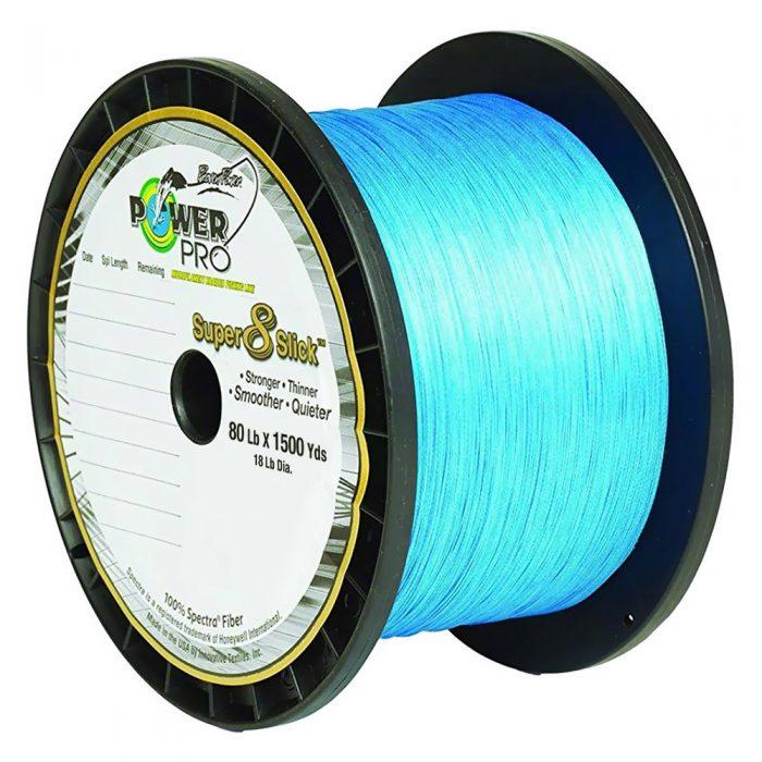 Powerpro Super 8 Slick 1500 Yard 80lb Marine Blue