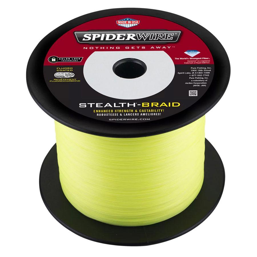 Spiderwire Stealth Hi Vis Yellow
