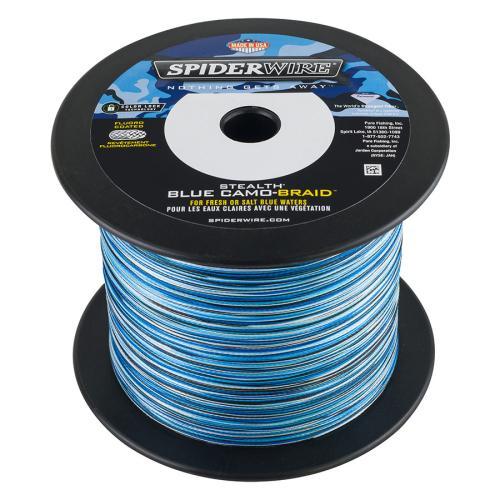 Spiderwire Stealth Blue Camo