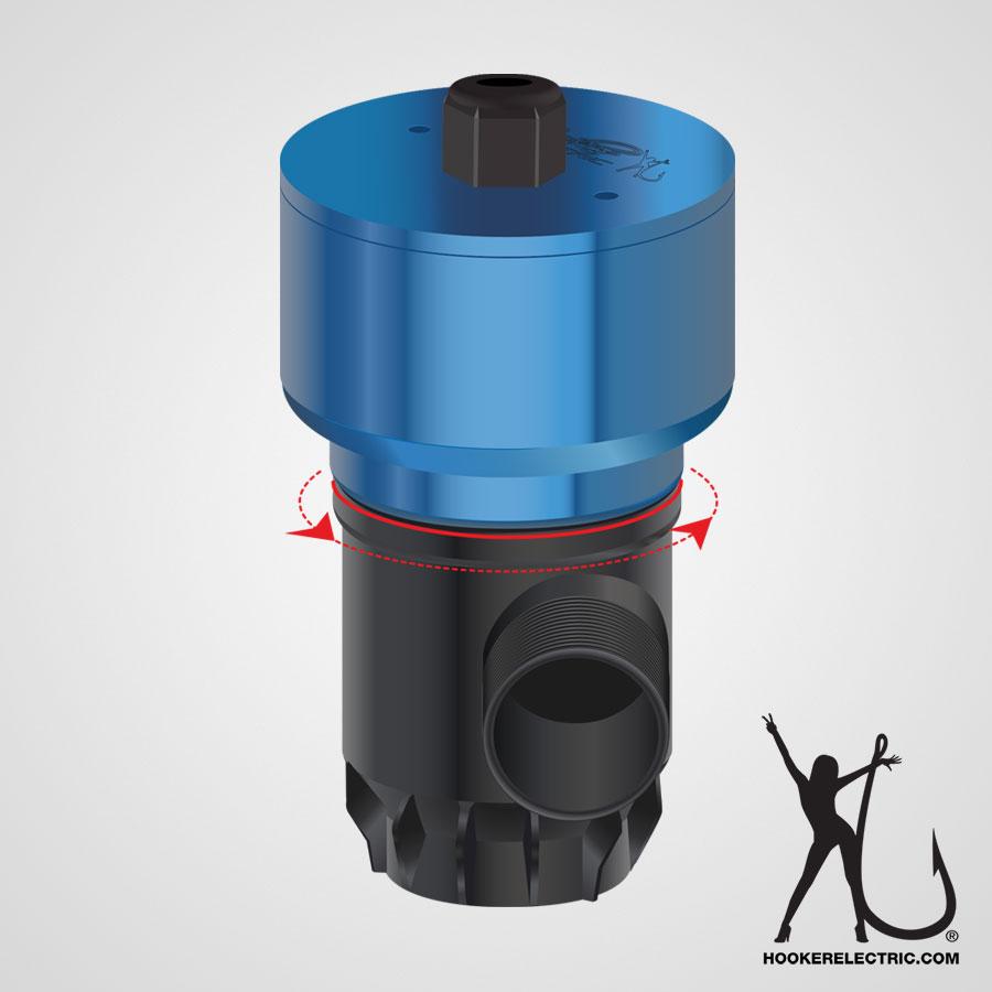 Hooker Electric Bait Pump Diagram 2500