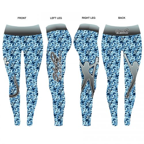 Hooker Electric Ladies Camo Leggings