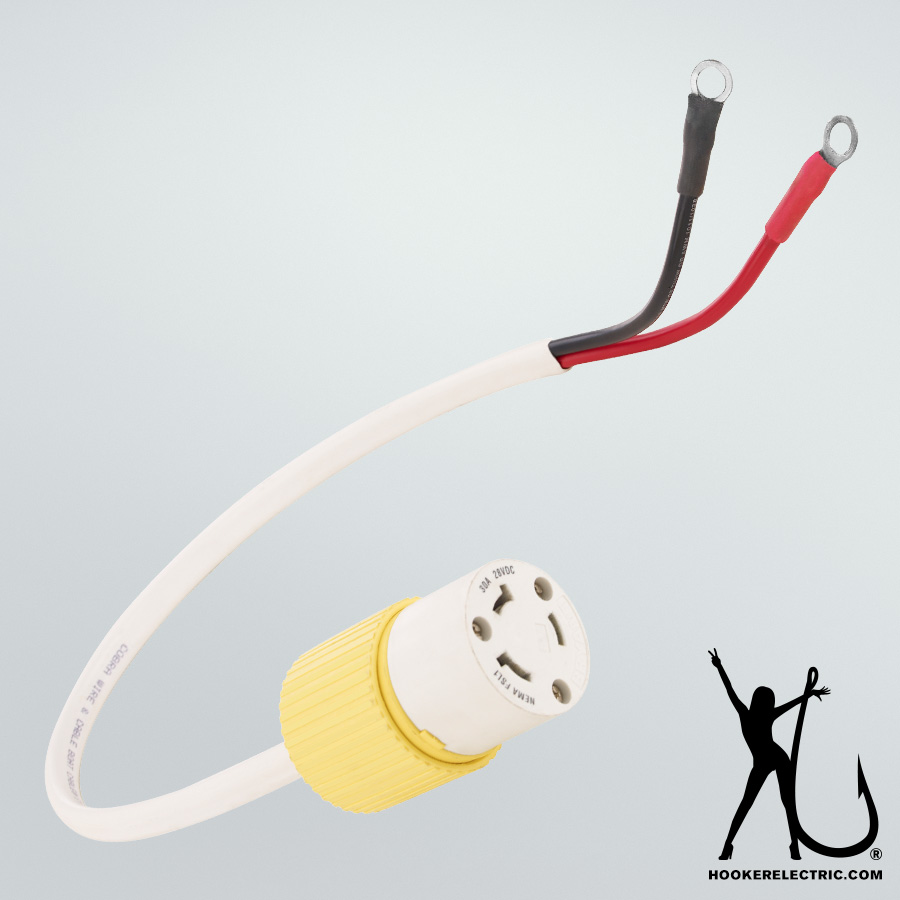 Three Foot 30A Power Cable Extensions