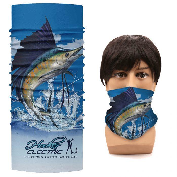 Hooker Electric Headwear Buff HooRag Marlin