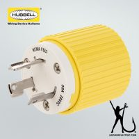 Hubbell 30A Male Plug