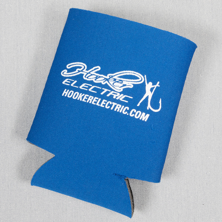 Hooker Electric Koozie with Logo