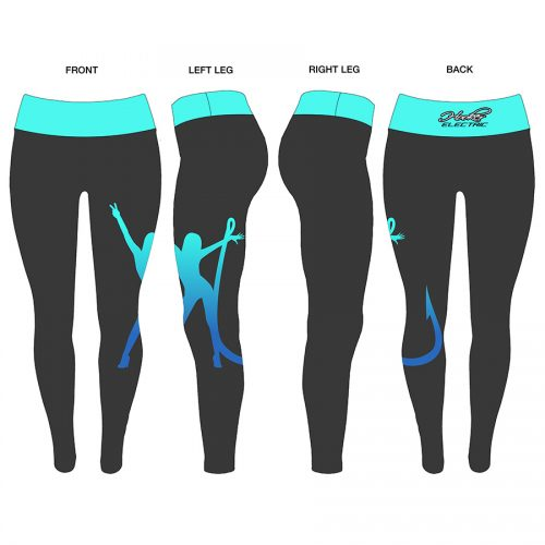 Hooker Electric Ladies Large Logo Leggings