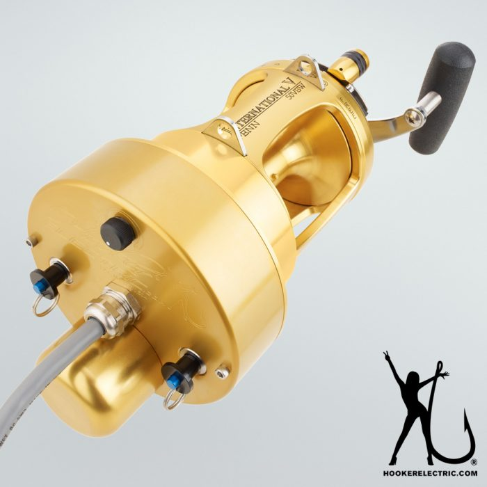 Hooker Electric Penn International 50 Detachable Reel