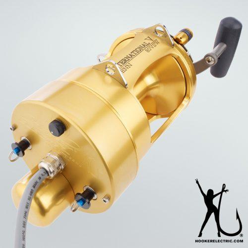 Hooker Electric Penn International 80 Detachable Reel