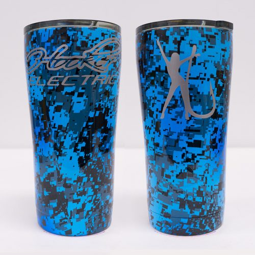 Ozark Trail 20 oz Blue Digital Tumbler