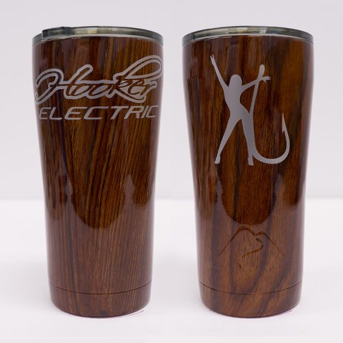 Ozark Trail 20 oz Brown Wood Tumbler