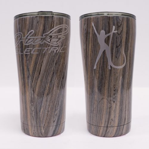 Ozark Trail 20 oz Gray Wood Tumbler
