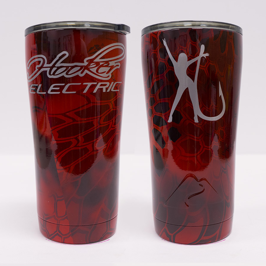Ozark Trail 20 oz Red Kryptec Tumbler