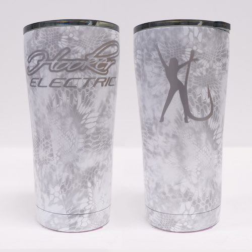 Ozark Trail 20 oz White Kryptec Tumbler