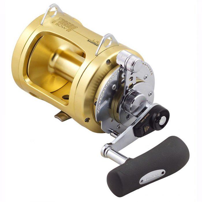 Hooker Electric Shimano Tiagra TI50WLRSA Reel